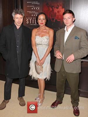 Aidan Gillen, Amanda Mealing and Sonny Green