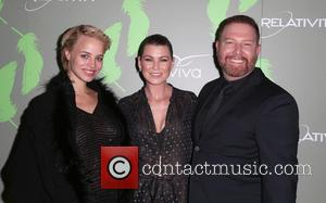 Jessica Roffey, Ellen Pompeo and Ryan Kavanaugh