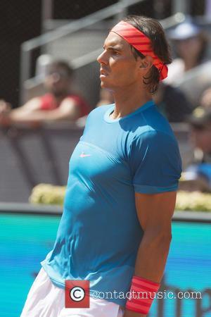 Rafael Nadal - Mutua Madrid Open Tennis Tournament - Day 8 - Semifinals: Rafael Nadal vs. Tomas Berdych at Caja...