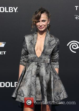 Karina Smirnoff - A variety of celebrities were photographed as they arrived for the world premiere of Disney's 'Tomorrowland' which...