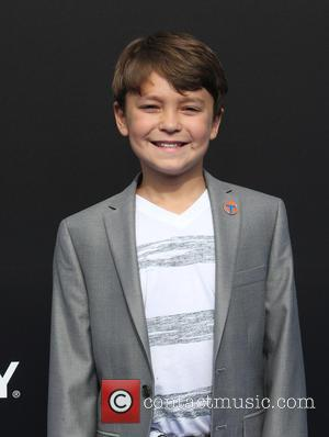 Pierce Gagnon - A variety of celebrities were photographed as they arrived for the world premiere of Disney's 'Tomorrowland' which...