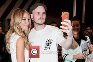 Lauren Pope - HairUK 2015 held at the NEC - Day 1 at National Exhibition Centre - Birmingham, United Kingdom...