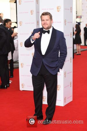 James Corden - House of Fraser British Academy (BAFTA) Television Awards held at the Theatre Royal - Arrivals. - London,...