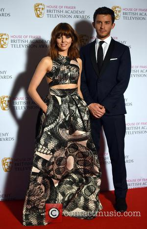 Ophelia Lovibond and Jonathan Bailey - House of Fraser British Academy (BAFTA) Television Awards held at the Theatre Royal -...