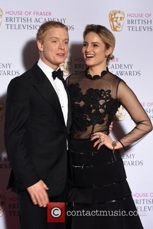 Dianna Agron and Freddie Fox - House of Fraser British Academy (BAFTA) Television Awards held at the Theatre Royal -...