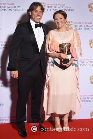 John Bishop and Jessica Hynes - House of Fraser British Academy (BAFTA) Television Awards held at the Theatre Royal -...
