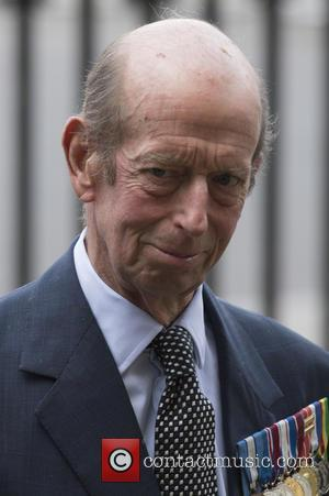 Duke of Kent - Members of the Royal family and politicians attends a service at Westminster Abbey to mark the...