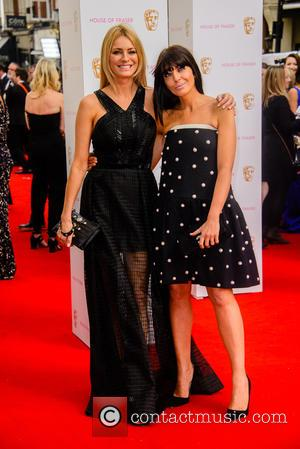 Tess Daly and Claudia Winkleman - House Of Fraser British Academy Television Awards (BAFTA) held at Theatre Royal - Arrivals...