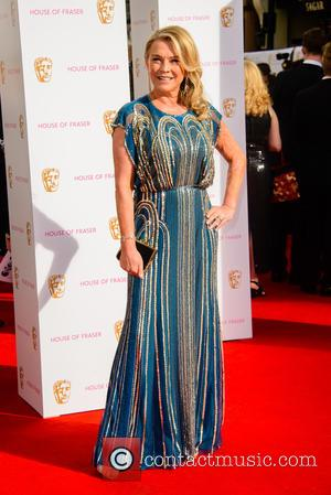 Amanda Redman - House Of Fraser British Academy Television Awards (BAFTA) held at Theatre Royal - Arrivals - London, United...