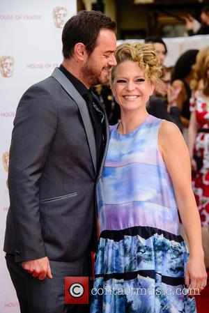 Danny Dyer and Joanne Mas - House Of Fraser British Academy Television Awards (BAFTA) held at Theatre Royal - Arrivals...