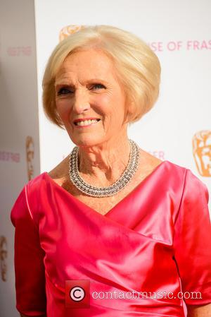 Mary Berry - House Of Fraser British Academy Television Awards (BAFTA) held at Theatre Royal - Arrivals - London, United...