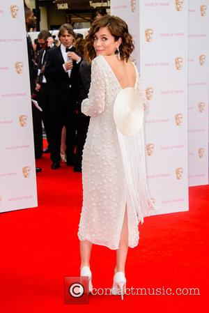 Anna Friel - House Of Fraser British Academy Television Awards (BAFTA) held at Theatre Royal - Arrivals - London, United...