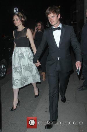 Sophie Ellis-Bextor and Richard Jones - Celebrities leave the BAFTA after party at Grosvenor Hotel - London, United Kingdom -...