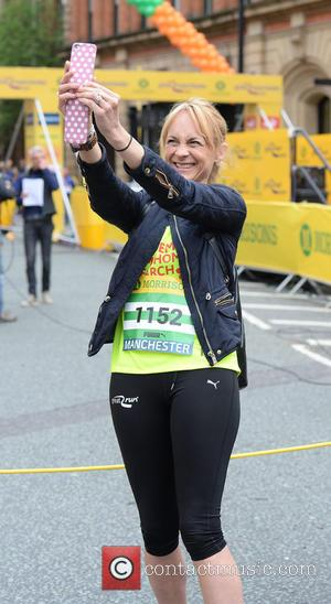 Celebrity runners great manchester run