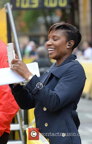 Denise Lewis - Morrisons Great Manchester Run 2015 - Manchester, United Kingdom - Sunday 10th May 2015