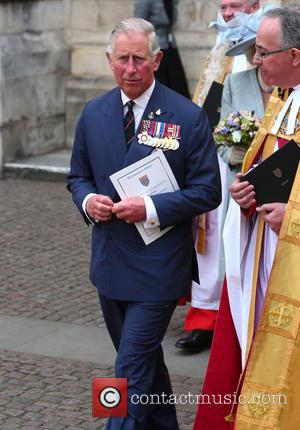 Prince Charles - Departures after the thanksgiving service at Westminster Abbey on the final day of 70th anniversary commemorations of...