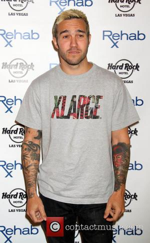 Pete Wentz - Pete Wentz of 'Fall Out Boy' hosts at Rehab Pool inside Hard Rock Hotel & Casino in...