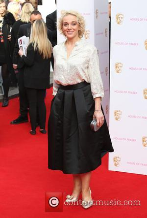 Amanda Abbington - A host of stars were photographed as they arrived for the House Of Fraser British Academy Television...