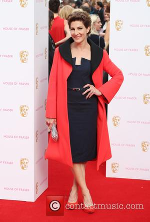 Tamsin Greig - A host of stars were photographed as they arrived for the House Of Fraser British Academy Television...