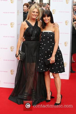 Tess Daly and Claudia Winkleman - A host of stars were photographed as they arrived for the House Of Fraser...