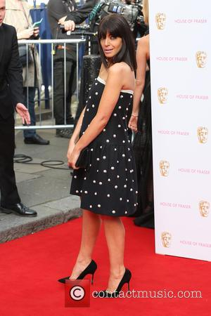 Claudia WInkleman - A host of stars were photographed as they arrived for the House Of Fraser British Academy Television...