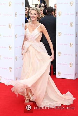 Donna Air - A host of stars were photographed as they arrived for the House Of Fraser British Academy Television...