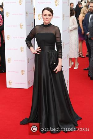 Keeley Hawes - A host of stars were photographed as they arrived for the House Of Fraser British Academy Television...