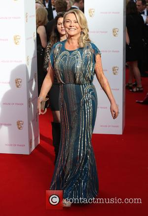 Amanda Redman - A host of stars were photographed as they arrived for the House Of Fraser British Academy Television...