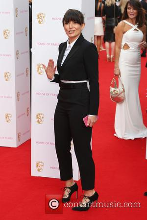 Davina McCall - A host of stars were photographed as they arrived for the House Of Fraser British Academy Television...