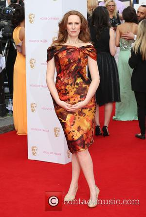 Catherine Tate - A host of stars were photographed as they arrived for the House Of Fraser British Academy Television...