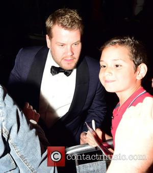 James Corden - House Of Fraser British Academy Television Awards (TV BAFTA) 2015 - Departures at w1 - London, United...