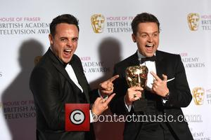 Anthony McPartlin and Declan Donnelly - House of Fraser British Academy (BAFTA) Television Awards held at the Theatre Royal -...