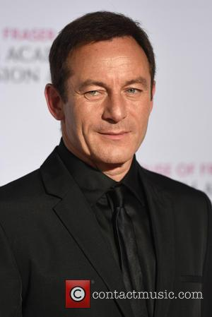 Jason Isaacs - House of Fraser British Academy (BAFTA) Television Awards held at the Theatre Royal - winners board. -...