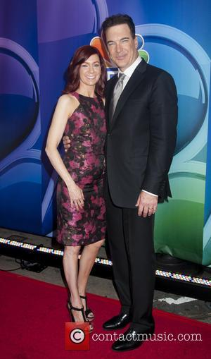 Carrie Preston and Patrick Warburton