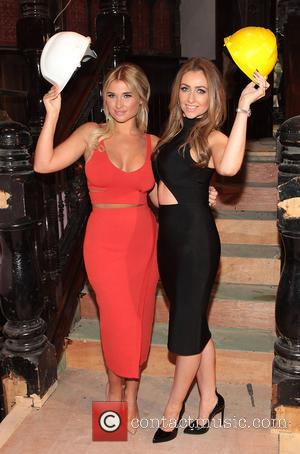 Billie Faiers and Gemma Merna
