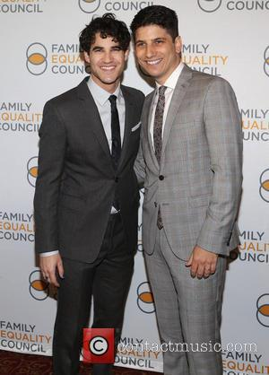 Darren Criss and Gabriel Blau - Family Equality Council's 2015 Night At The Pier at Pier 60 - New York...
