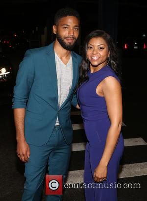 Taraji P. Henson and Jussie Smollett - Family Equality Council's 2015 Night At The Pier at Pier 60 - New...