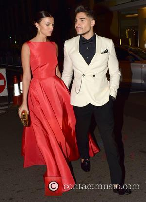 Lucy Mecklenburgh and Louis Smith - House Of Fraser British Academy Television Awards (TV BAFTA) 2015 - Departures - London,...