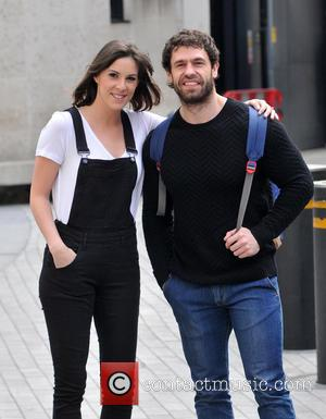 Verity Rushworth and Kelvin Fletcher - Verity Rushworth and Kelvin Fletcher at The BBC - London, United Kingdom - Monday...