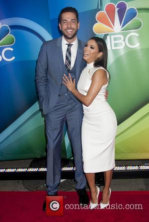 Zachary Levi and Eva Longoria - A host of stars were snapped as they arrived to Radio City Music Hall...