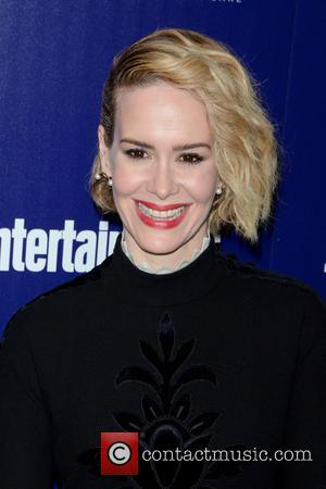 Sarah Paulson - Entertainment Weekly And PEOPLE Celebrate The New York Upfronts - Arrivals - Manhattan, New York, United States...
