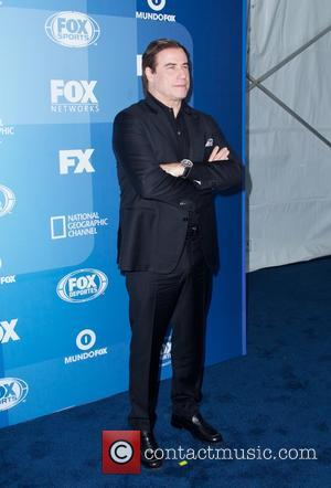 John Travolta - A host of stars were photographed as they arrived for the FOX 2015 Upfront event which was...