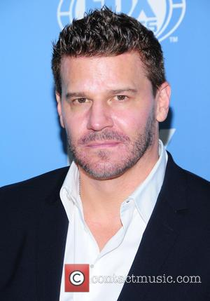 David Boreanaz - A host of stars were photographed as they arrived for the FOX 2015 Upfront event which was...