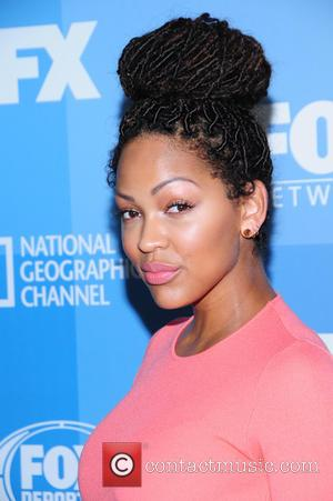 Meagan Good - A host of stars were photographed as they arrived for the FOX 2015 Upfront event which was...