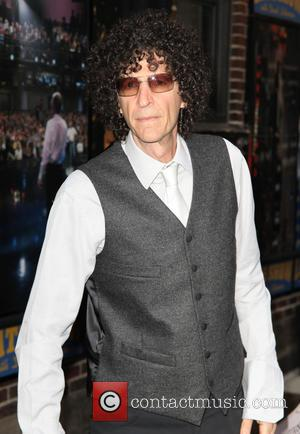 Howard Stern - Celebrities at the Ed Sullivan Theater for the 'Late Show with David Letterman' at Ed Sullivan Theater...