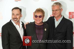 David Furnish, Elton John and Stephen Daldry