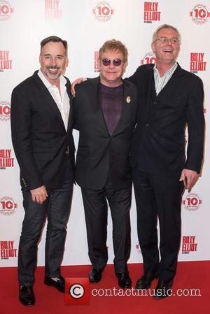 David Furnish, Stephen Daldry and Elton John
