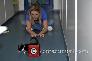 Carley Stenson - Hollyoaks actress Carley Stenson promoting the Cats Protection's Birmingham Adoption Centre a national network of over 250...