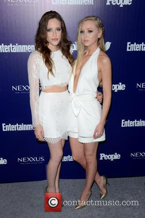 Carly Chaikin and Portia Doubleday
