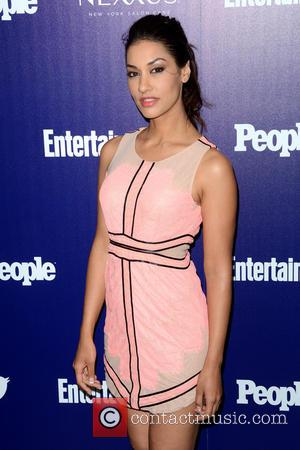 Janina Gavankar - Entertainment Weekly And PEOPLE Celebrate The New York Upfronts - Arrivals - Manhattan, New York, United States...